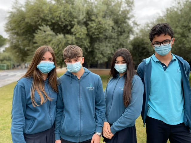 """Los alumnos del Mater Dei Castellón ganadores de España del concurso universitario internacional sobre sostenibilidad de EU-CONEXUS: """"Think Smart, Create Green"""""""